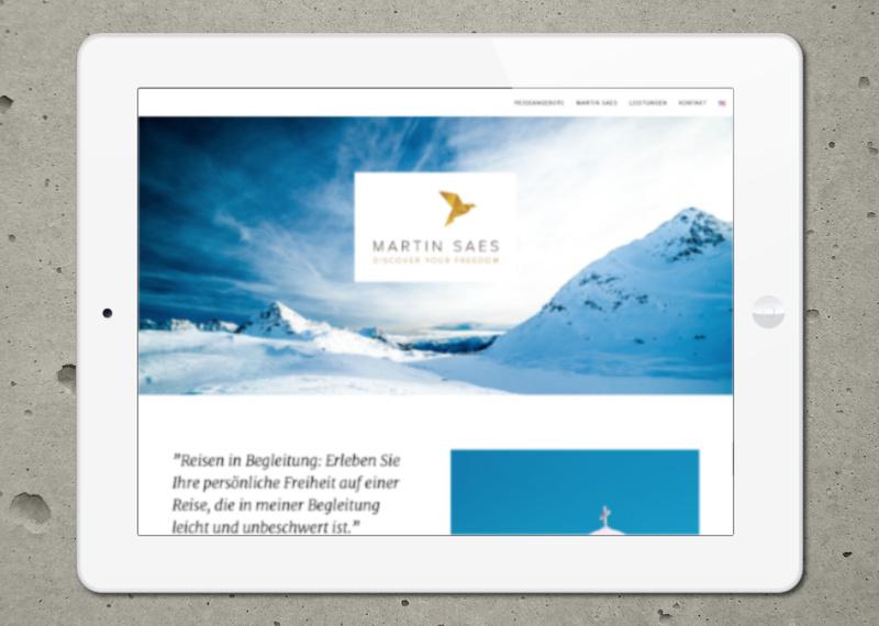 Marcus Wertz: Martin Saes Website