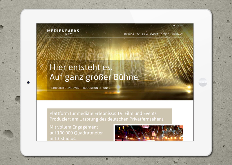 Marcus Wertz: Medienparks Website