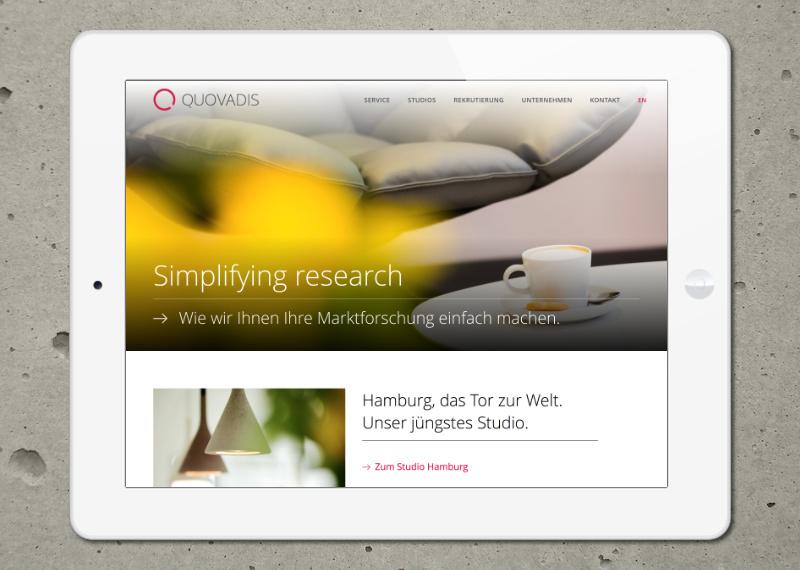 Marcus Wertz: Quovadis Website