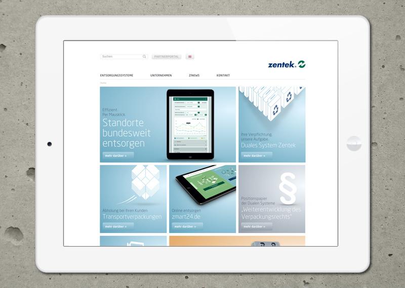 Marcus Wertz: Zentek Website Impuls